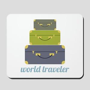 World Traveler Mousepad