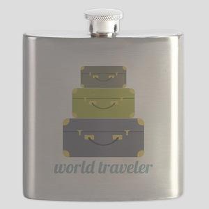 World Traveler Flask