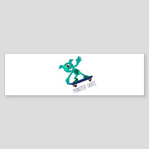 Monster Skate Bumper Sticker