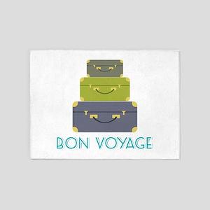 Bon Voyage 5'x7'Area Rug