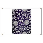 Abstract Whimsical Flowers Banner