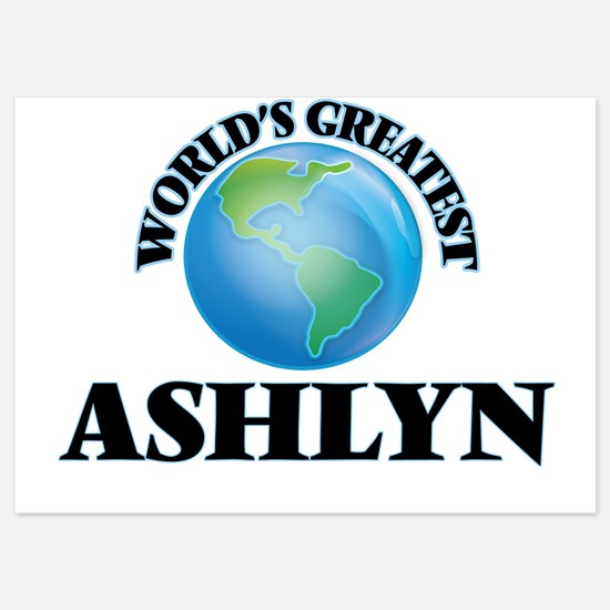 World's Greatest Ashlyn Invitations