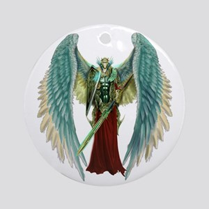 Angel Michael Round Ornament