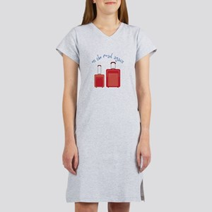 On The Road Again Women's Nightshirt
