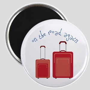 On The Road Again Magnets