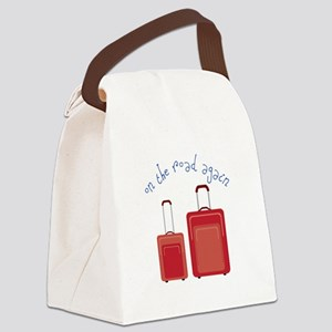 On The Road Again Canvas Lunch Bag