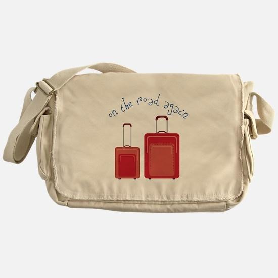 On The Road Again Messenger Bag
