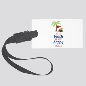 My Happy Place Luggage Tag