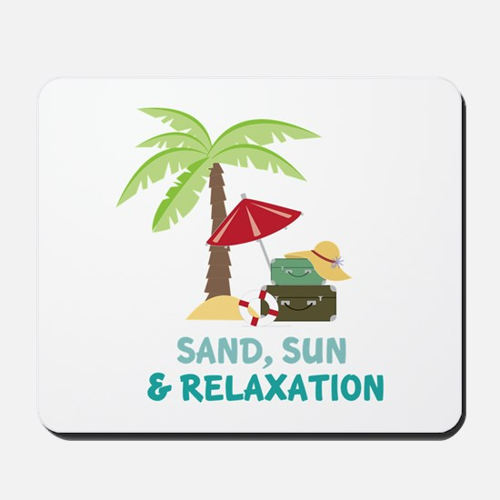 Sand Sun Relaxation Mousepad