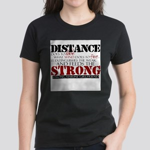 Feeds the strong: USMC Girlfr Women's T-Shirt