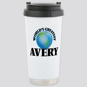 World's Greatest Avery Stainless Steel Travel Mug