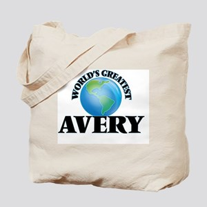 World's Greatest Avery Tote Bag