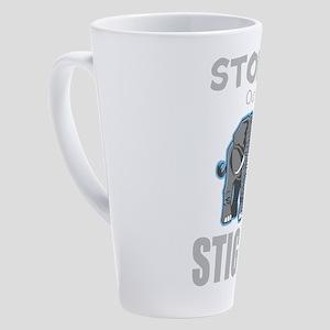 Stomp Out Stigma 17 oz Latte Mug