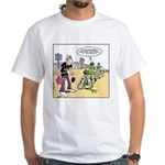 Flying Saucers White T-Shirt