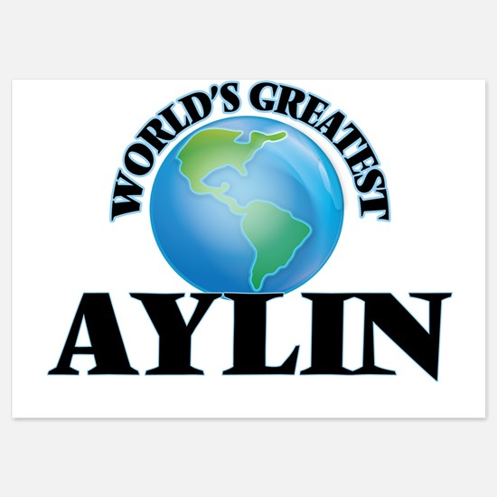 World's Greatest Aylin Invitations