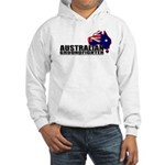 Australian Groundfighter - flag hooded sweatshirt