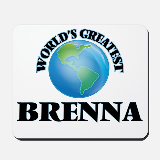 World's Greatest Brenna Mousepad