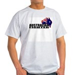 Australian Fighter - Aussie flag t-shirt