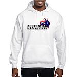 Australian Fighter flag hooded sweatshirt