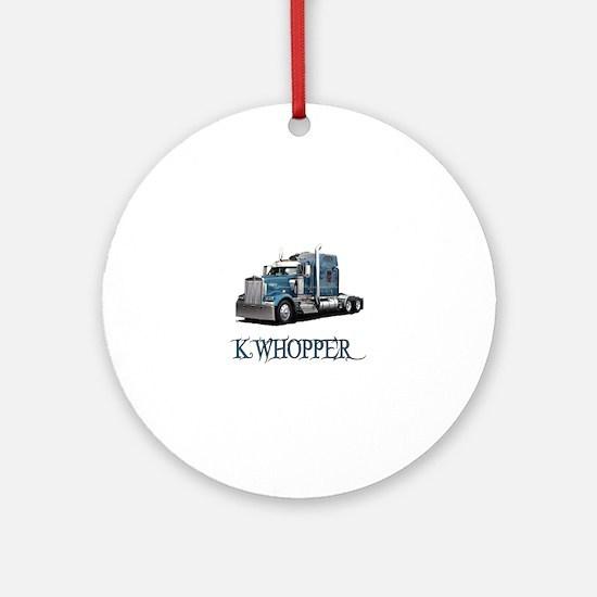 K Whopper Ornament (Round)