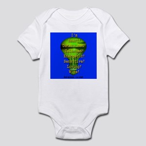 I'm Dyslexic -- So What! Infant Bodysuit