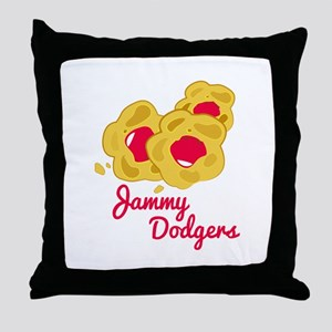 Jammy Dodgers Throw Pillow