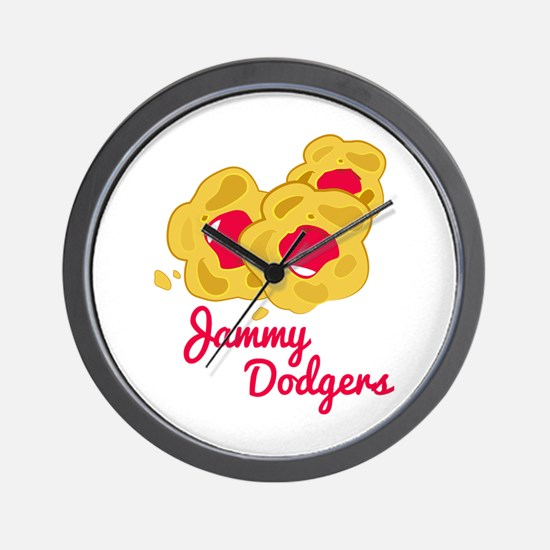 Jammy Dodgers Wall Clock