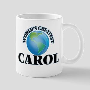 World's Greatest Carol Mugs