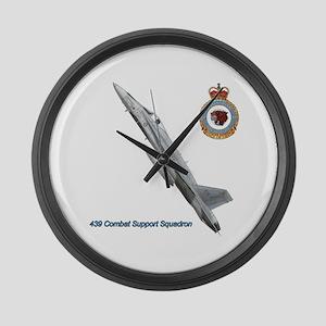 439css Large Wall Clock