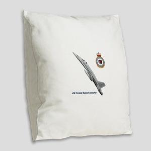 439css Burlap Throw Pillow