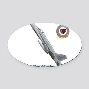 439css Oval Car Magnet