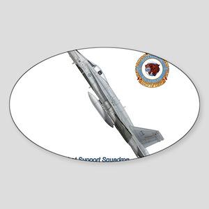 Canada's 439 Combat Support S Sticker (Rec Sticker