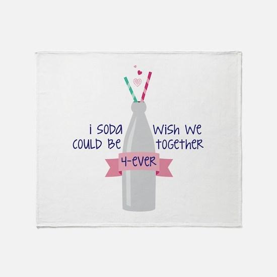 Together 4-Ever Throw Blanket