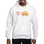 Australian Groundfighter BJJ hooded sweatshirt