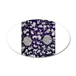 Abstract Whimsical Flowers Decal Wall Sticker