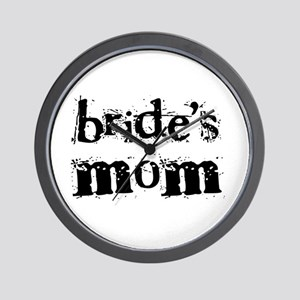 Bride's Mom Wall Clock