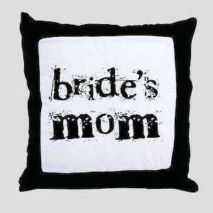 Bride's Mom Throw Pillow