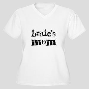 Bride's Mom Women's Plus Size V-Neck T-Shirt