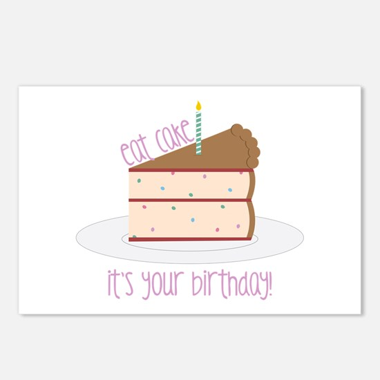 Eat Cake Postcards (Package of 8)