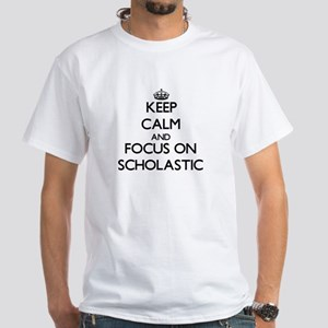 Keep Calm and focus on Scholastic T-Shirt