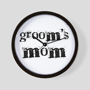 Groom's Mom Wall Clock