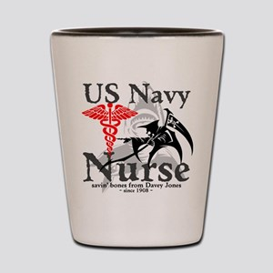 Navy Nurse Corps Shot Glass