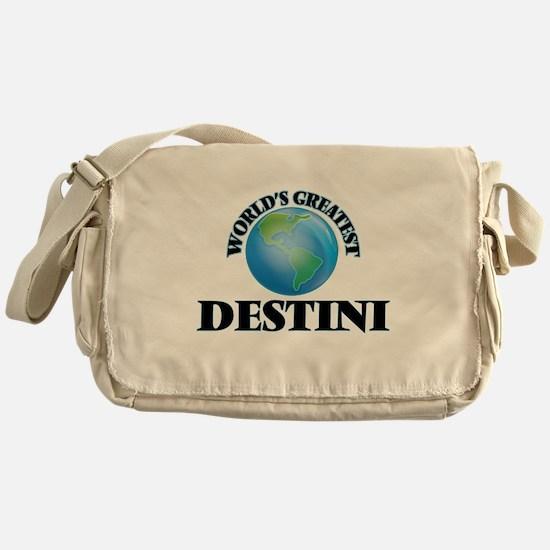 World's Greatest Destini Messenger Bag