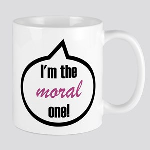 I'm the moral one! Stainless Steel Travel Mugs