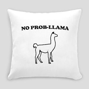 No prob-llama Everyday Pillow