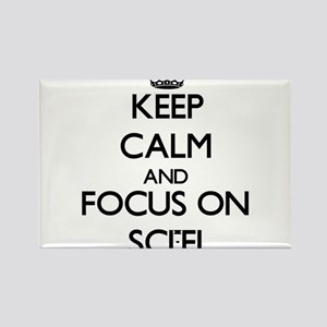 Keep Calm and focus on Sci-Fi Magnets