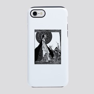 Edgar Allan Poe Illustration iPhone 7 Tough Case