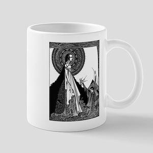 Edgar Allan Poe Illustration Mugs