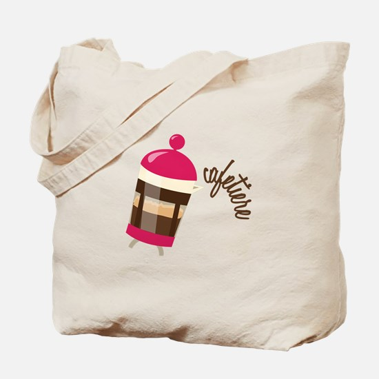 Cafetiere Tote Bag