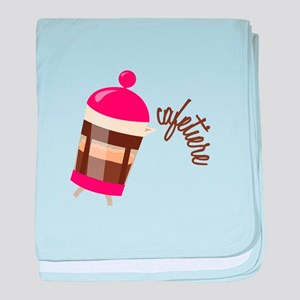 Cafetiere baby blanket
